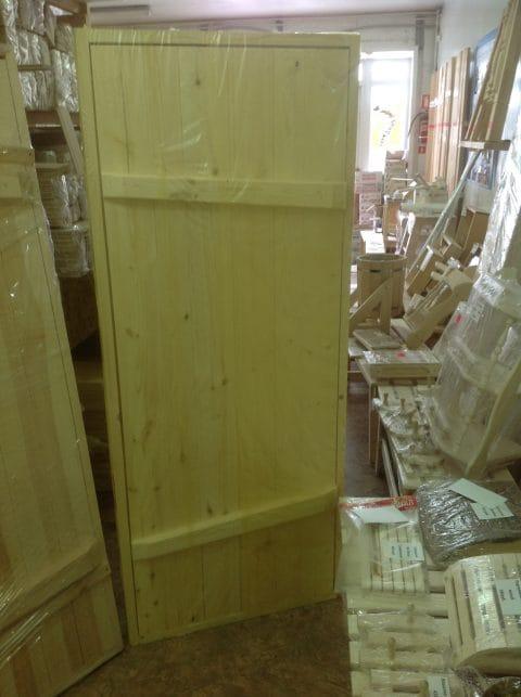 дверь банная с сучками (3)